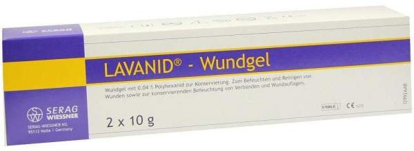 Lavanid Wundgel 2 x 10 g Gel