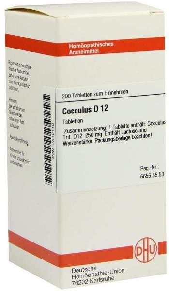Cocculus D 12 200 Tabletten
