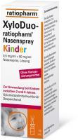 XyloDuo Ratiopharm Nasenspray Kinder
