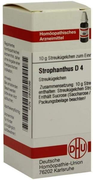 Strophanthus D4 10 G Globuli