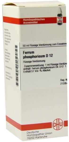 Ferrum Phosphoricum D12 Dilution 50 ml Dilution