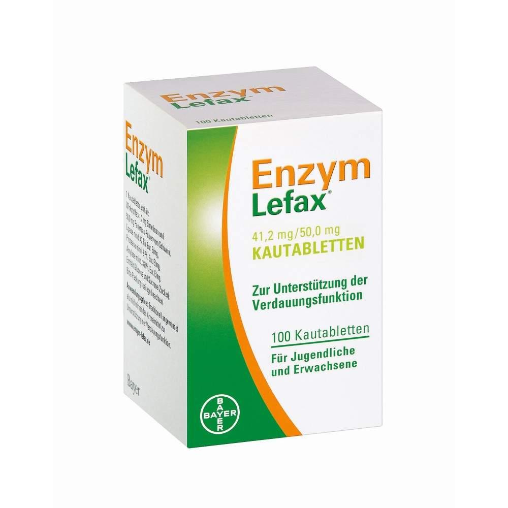 Enzym Lefax 100 Kautabletten