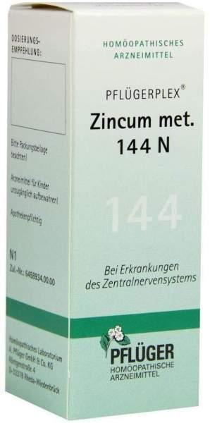 Pflügerplex Zincum Metallicum 144 N 50 ml Tropfen