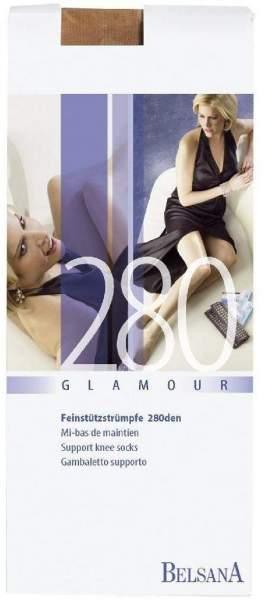 Belsana Glamour Ad Normal L Siena 280den Mit Spitze 2 Stück