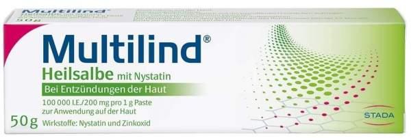 Multilind Heilsalbe mit Nystatin 50 g