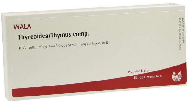 Thyreoidea Thymus Comp. Ampullen