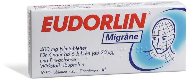 Eudorlin Migräne Filmtabletten 10 Stück