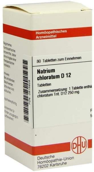 Natrium Chloratum D12 Tabletten 80 Tabletten
