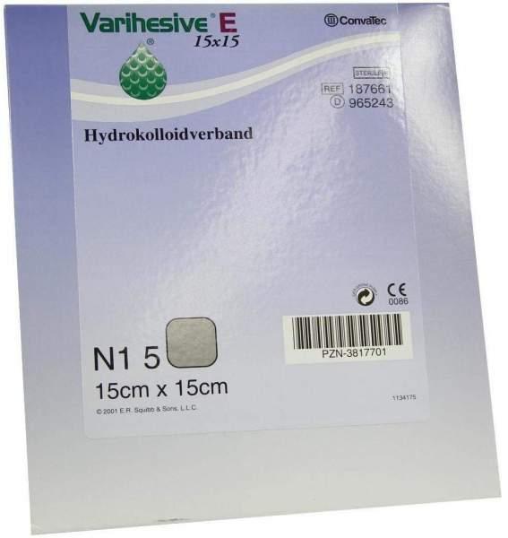 Varihesive E 15x15cm Hkv Hydroaktiv 965243