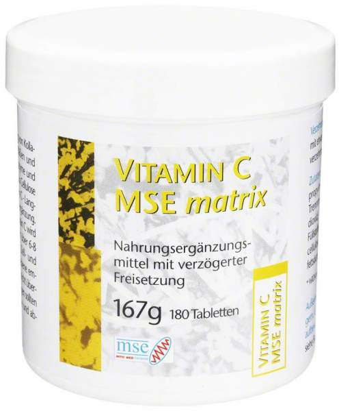 Vitamin C Mse Matrix 180 Tabletten