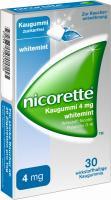 Nicorette Kaugummi 4 mg Whitemint 30 Kaugummis