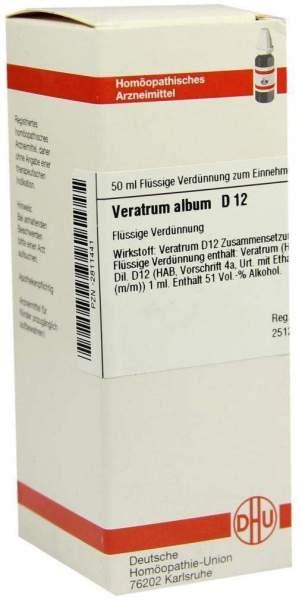 Veratrum Album D12 Dilution 50 ml Dilution