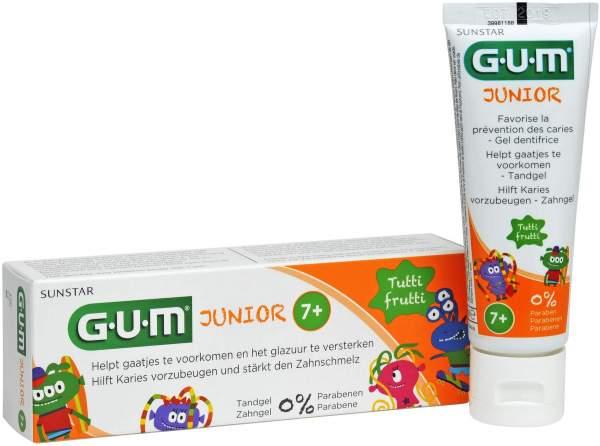 Gum Junior Zahngel Tutti-Frutti 7+ 50 ml