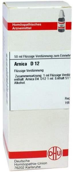 Arnica D 12 50 ml Dilution