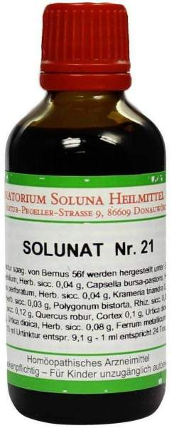 Solunat Nr.21 50 ml Tropfen