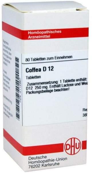 Coffea D12 80 Tabletten