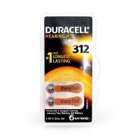 DURACELL Hörgerätebatterie 312
