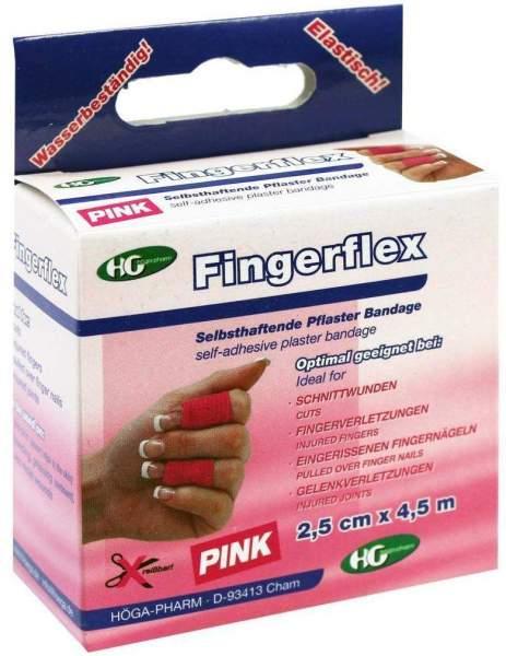 Fingerflex Binde 2,5cmx4,5m Pink