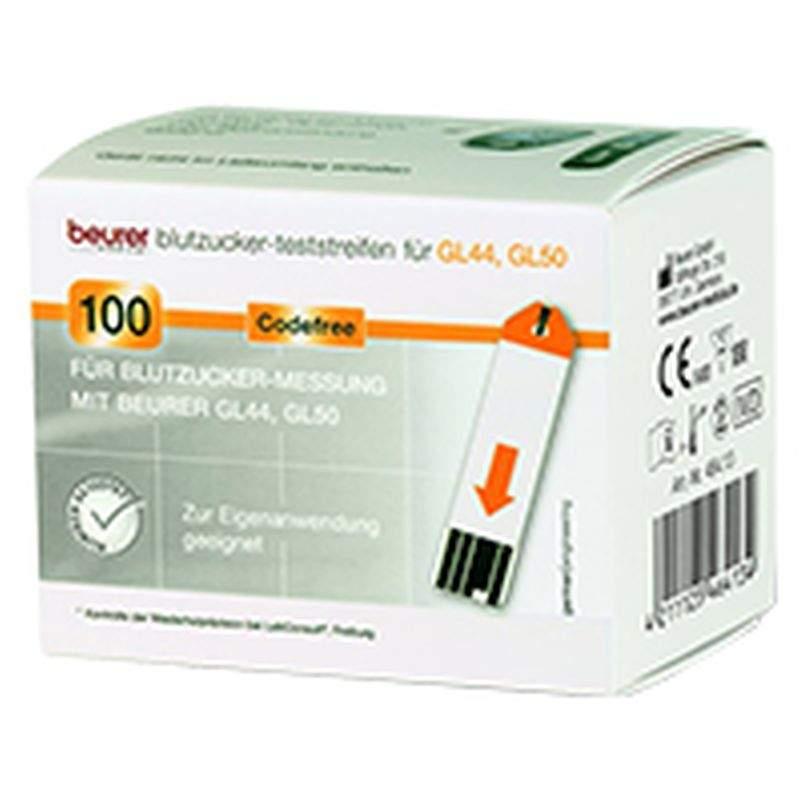 Beurer Gl44 Gl50 Blutzucker-Teststreifen