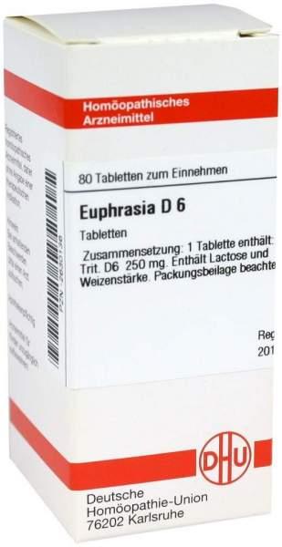 Euphrasia D 6 80 Tabletten