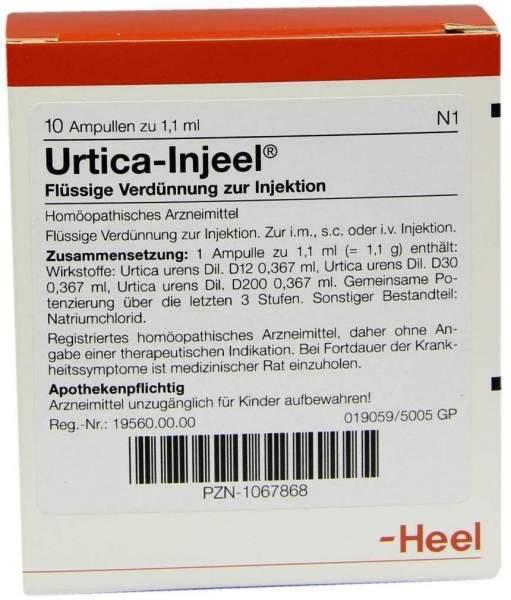Urtica Injeel 10 Ampullen
