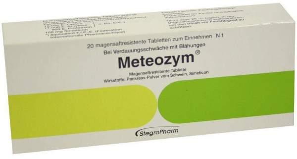 Meteozym 20 Filmtabletten