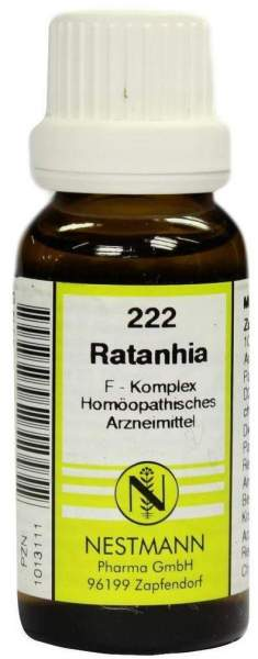 Ratanhia F Komplex Nr. 222 20 ml Dilution