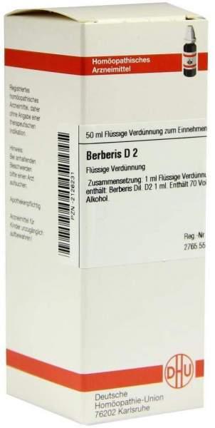 Dhu Berberis D2 Dilution