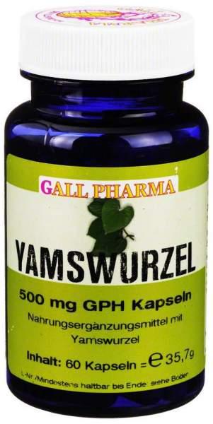 Yamswurzel 500 mg Gph 60 Kapseln