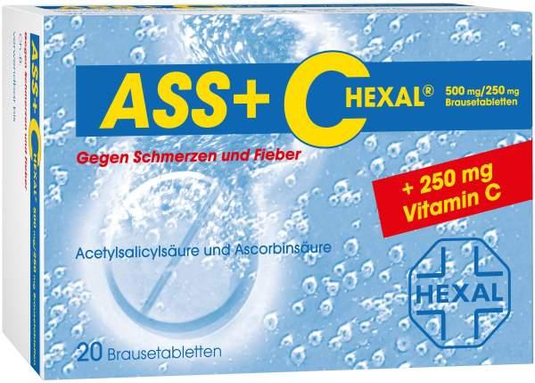 ASS + C Hexal 20 Brausetabletten
