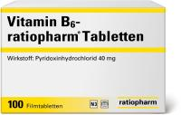 Vitamin B6-ratiopharm Tabletten