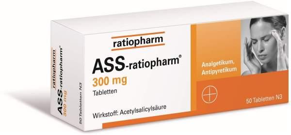 Ass-Ratiopharm 300 mg 50 Tabletten