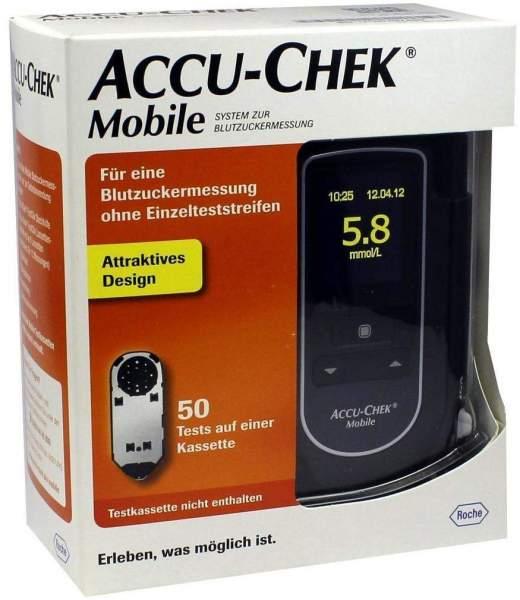 Accu Chek Mobile 1 Set Mmol Pro L