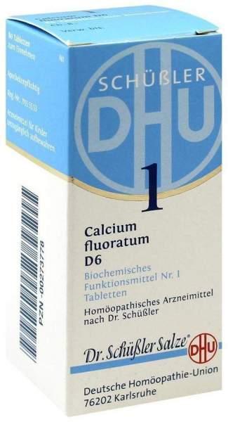 Biochemie Dhu 1 Calcium Fluoratum D6 Tabletten 80 Tabletten