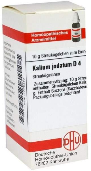 Dhu Kalium Jodatum D4 Globuli