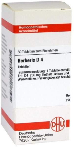 Berberis D 4 80 Tabletten