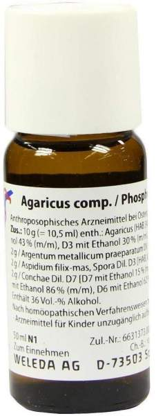 Weleda Agaricus comp. Phosphorus 50 ml Dilution