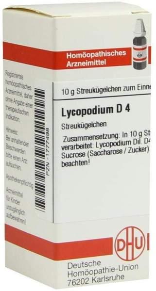 Lycopodium D4 10 G Globuli