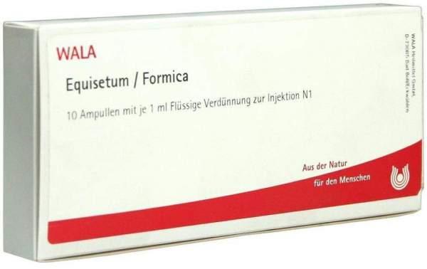 Equisetum-Formica 10 X 1 ml Ampullen