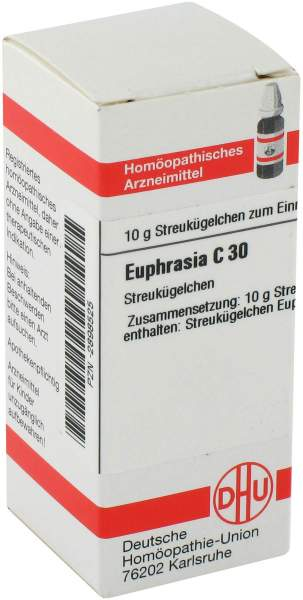 Euphrasia C30 Globuli 10 g Globuli