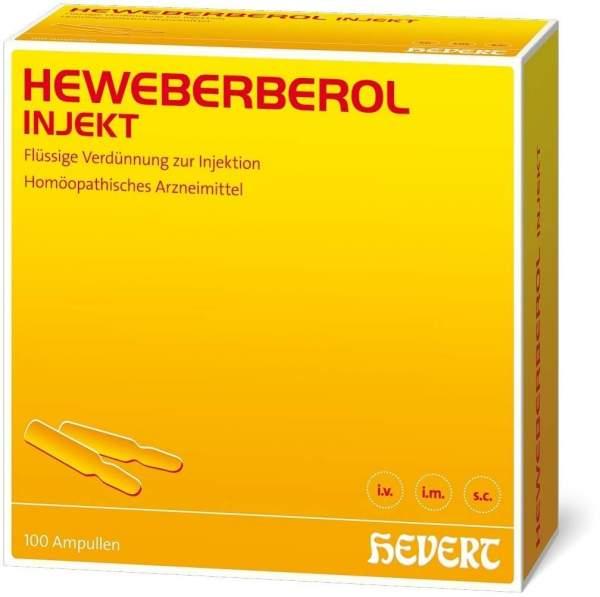 Heweberberol Injekt 100 Ampullen