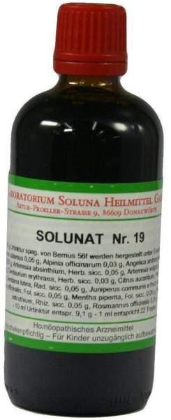 Solunat Nr.19 100 ml Tropfen