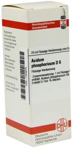 Acidum Phosphoricum D 6 20 ml Dilution