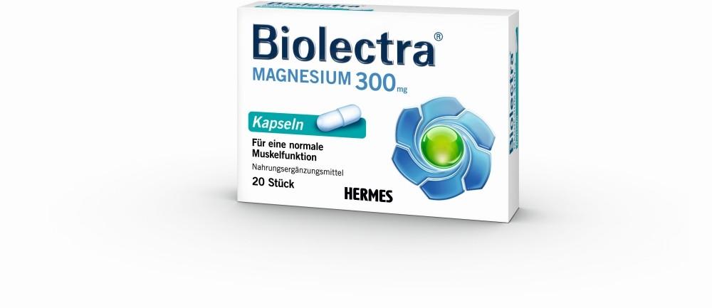 HERMES Arzneimittel GmbH Biolectra Magnesium 300 mg Kapseln - 20 Kapseln