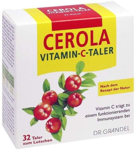 Cerola Vitamin C 32 Taler Grandel