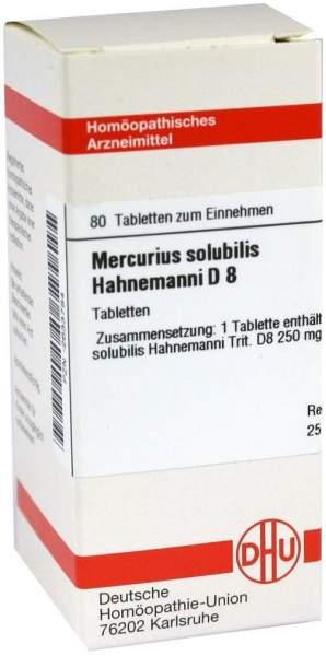 Mercurius Solubilis D8 Tabletten Hahnemanni
