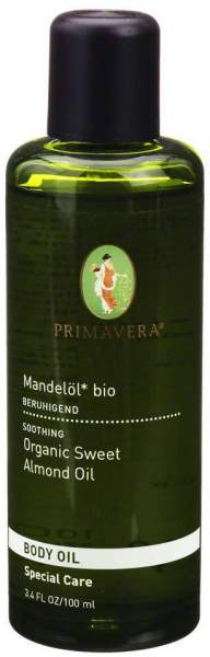 Primavera Mandelöl Bio 100 ml Körperöl