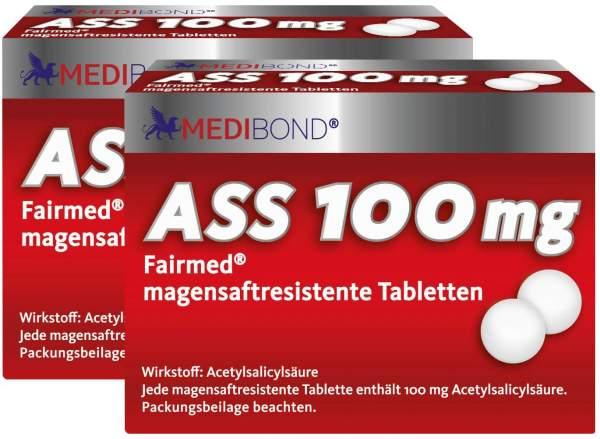 ASS Medibond 100 mg 2 x 100 magensaftresistente Tabletten