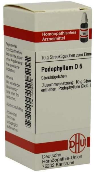Podophyllum D6 10 G Globuli