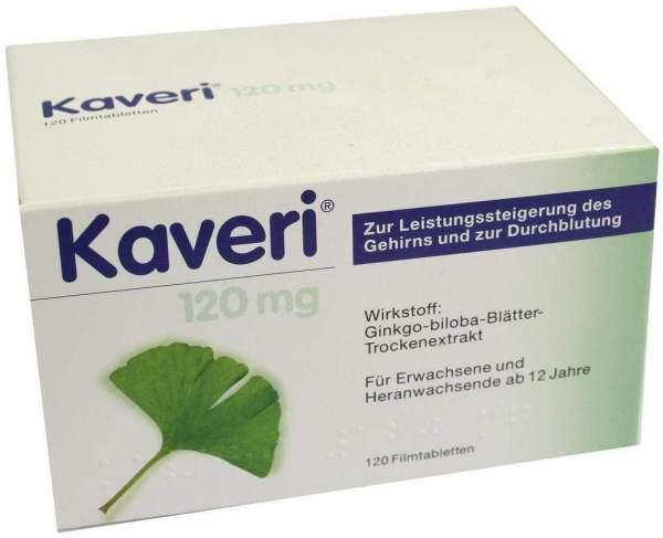 Kaveri 120 mg 20 x 60 Filmtabletten